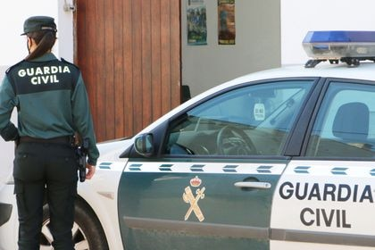 Coche de la Guardia Civil.