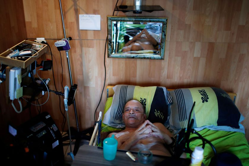 Alain Cocq, suffering from a degenerative disease that has no treatment, wants to die with dignity