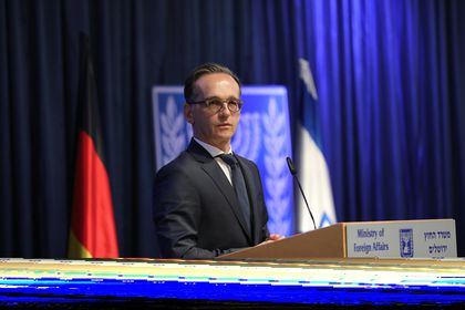 German ?Foreign Minister Haas visits Israel