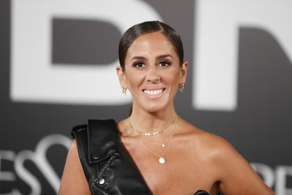 Anabel Pantoja at photocall for presentation perfum Yves Saint Laurent: Libre in Madrid on Monday, 30 September 2019.