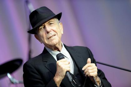 "Leonar Cohen publica disco póstumo, ""Thanks for the dance"""