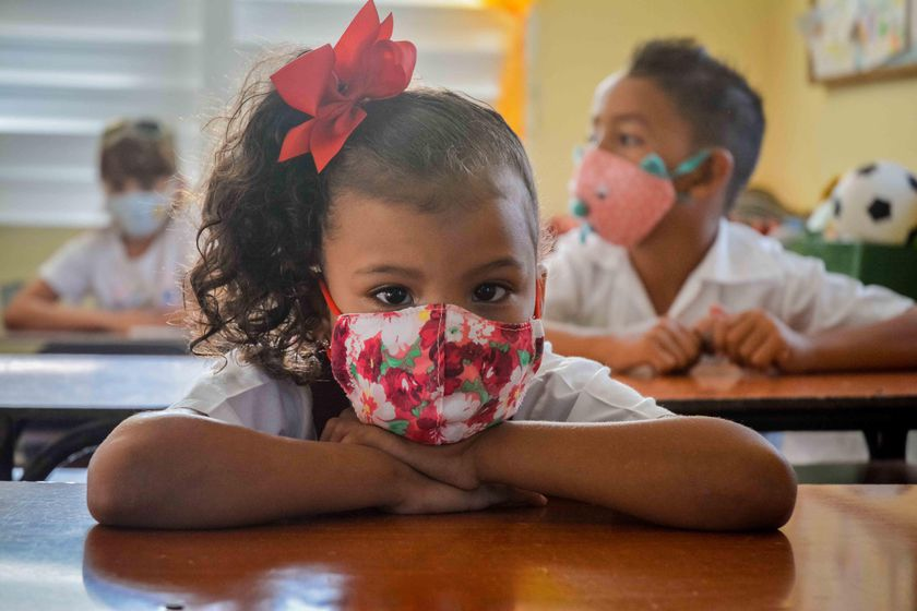 Cuban schools closed due to pandemic reopen with the exception of Havana