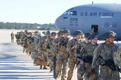 82nd Airborne deploys for Iraq