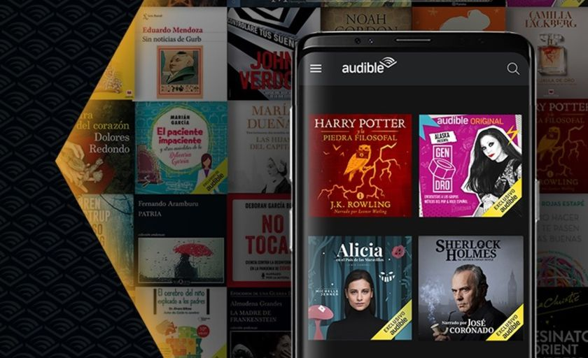 Plataforma de podcasts y audiolibros