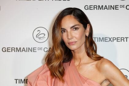 Model Eugenia Silva at photocall for Germaine de Capuccini brand event in Madrid on Tuesday, 11 February 2020.