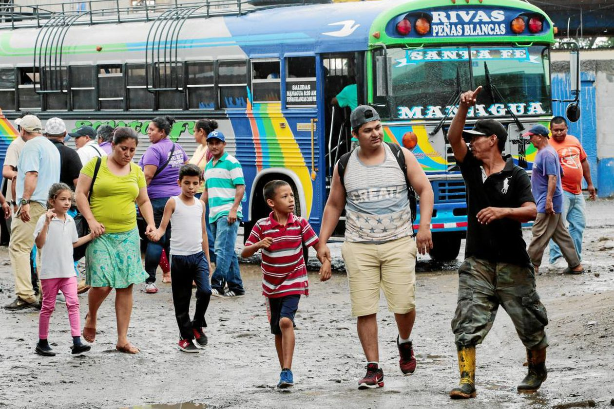 Nicaragua returns more than 500 migrants without authorization