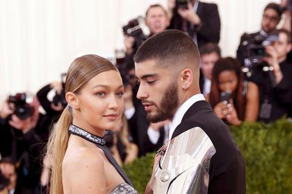 FILE PHOTO: Model Gigi Hadid and singer Zayn Malik arrive at the Met Gala in New York