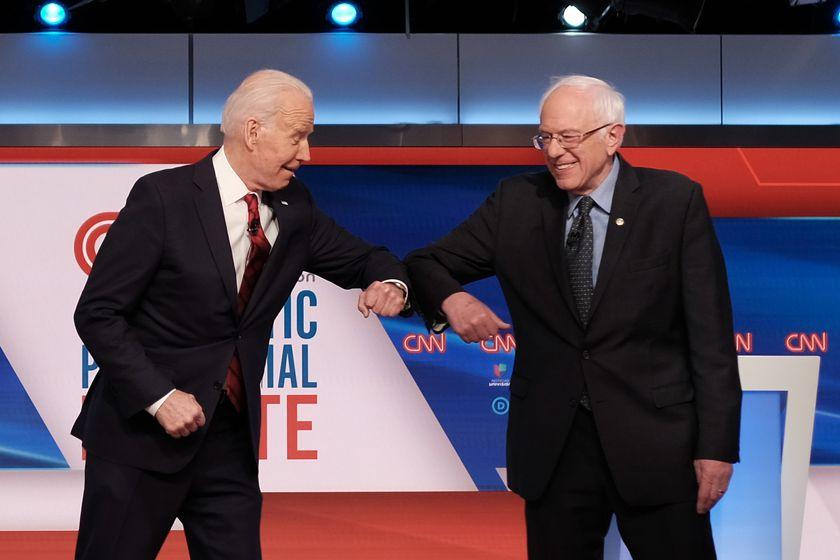 US Democratic Presidential Debate in Washington