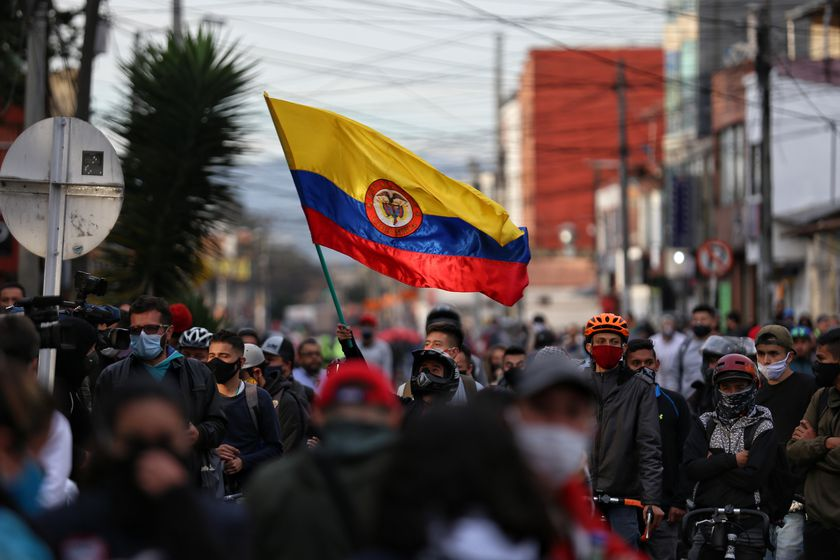 Protests against police violence in Colombia