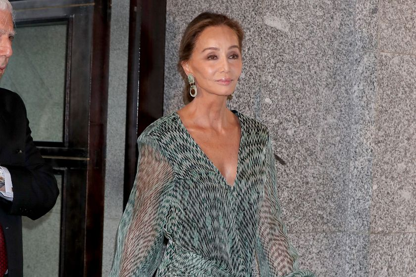 Isabel Preysler attending the opening of the season of the Royal Theatre 2019 / 2020 in Madrid.