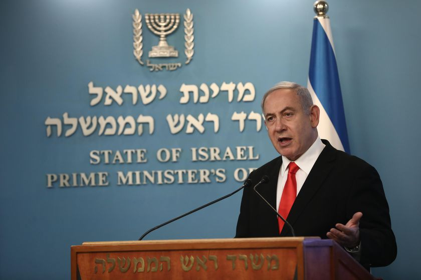 PM Netanyahu press conference