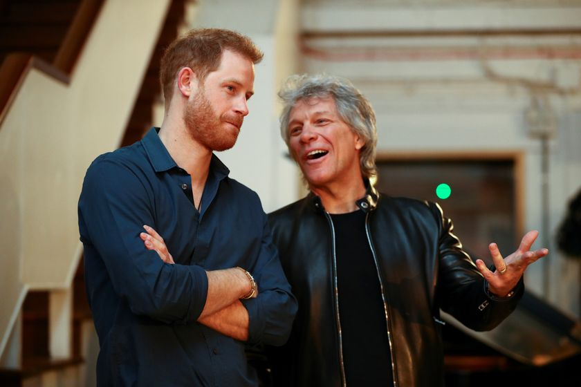 Duke of Sussex visits Abbey Road Studios in London