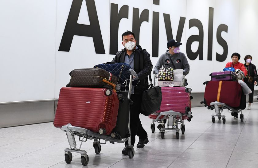 UK to begin monitoring direct flights from China to stem the spread of the coronavirus in Britain