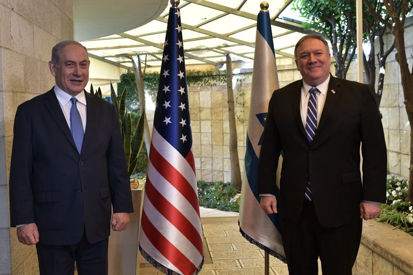 US Secretary of State Mike Pompeo visits Israel