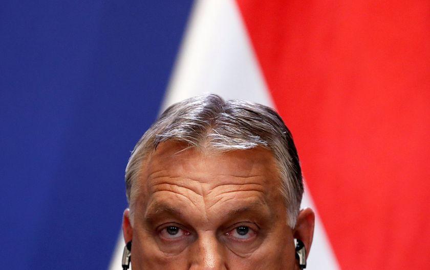 Hungary's PM Orban and Slovakia's PM Matovic hold joint news conference in Budapest