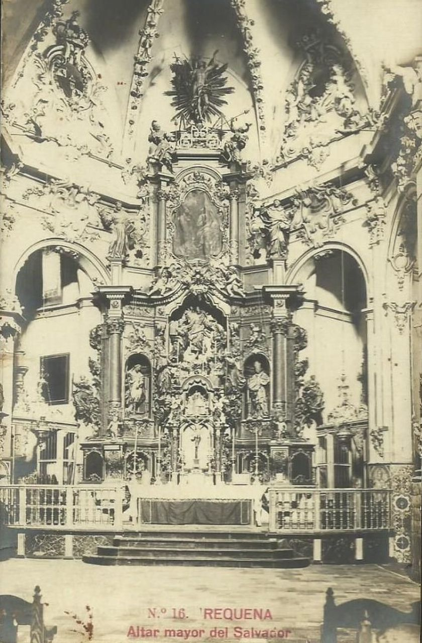 Altar mayor del Salvador, Requena