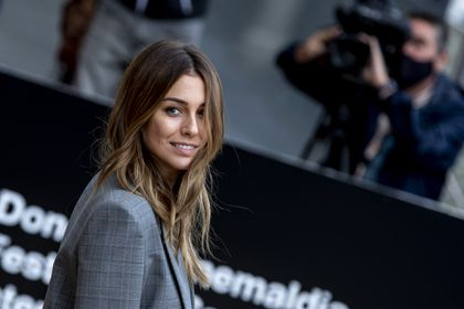 Actress Blanca Suarez arrives at the 68th San Sebastian Film Festival in San Sebastian, Spain, on Saturday 19 September, 2020.