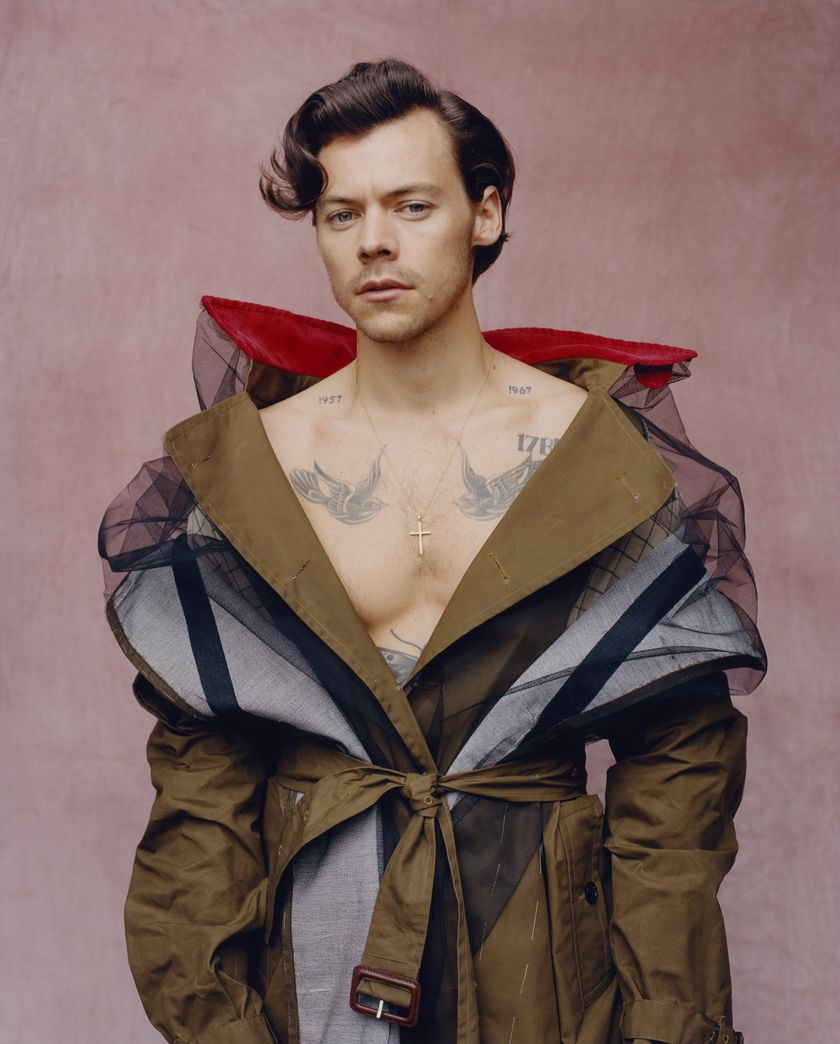 Harry Styles, portada de la revista Vogue