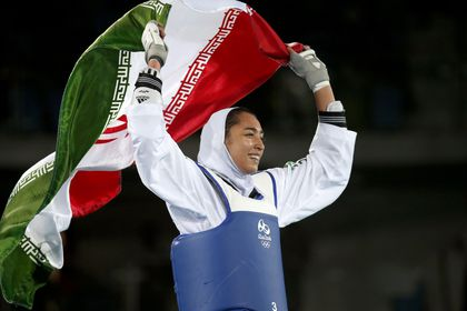 Iran's only female Olympic medallist announces she has defected to Europe