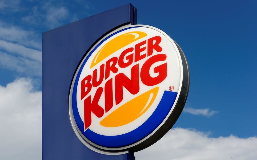 FILE PHOTO - The logo of U.S. fast food group Burger King is seen at a restaurant in Bruettisellen