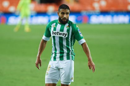 Nabil Fekir of Real Betis during the La Liga Santander mach between Valencia and Real Betis at Estadio de Mestalla, on October 3, 2020 in Valencia Spain  AFP7 / Europa Press / Europa Press 03/10/2020 ONLY FOR USE IN SPAIN
