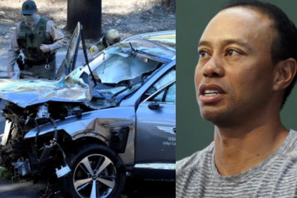 "El ""misterio"" rodea el accidente de Tiger Woods"