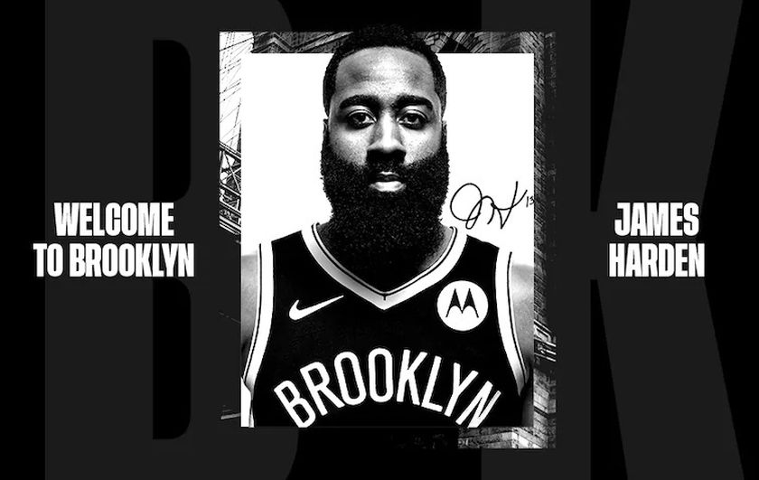 James Harden ficha por Brooklyn Nets