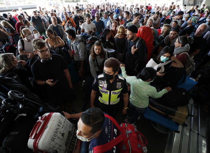 Philippines declares state of calamity, foreign travelers given deadline to leave country