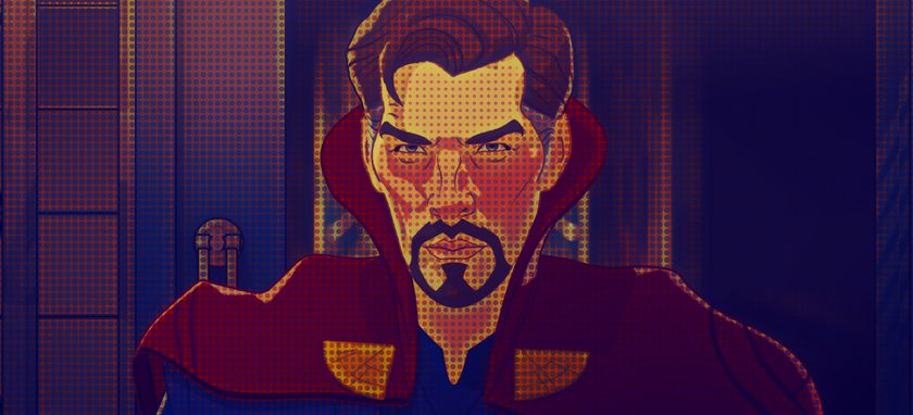 """Doctor Extraño, Doctor Strange, en """"¿Qué pasaría si...?"""" (""""What If...?"""") ©Marvel Studios 2021. All Rights Reserved."""
