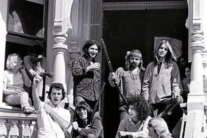 Los Greateful Dead, en 1967, en el 710 de Ashbury Street,  San Francisco