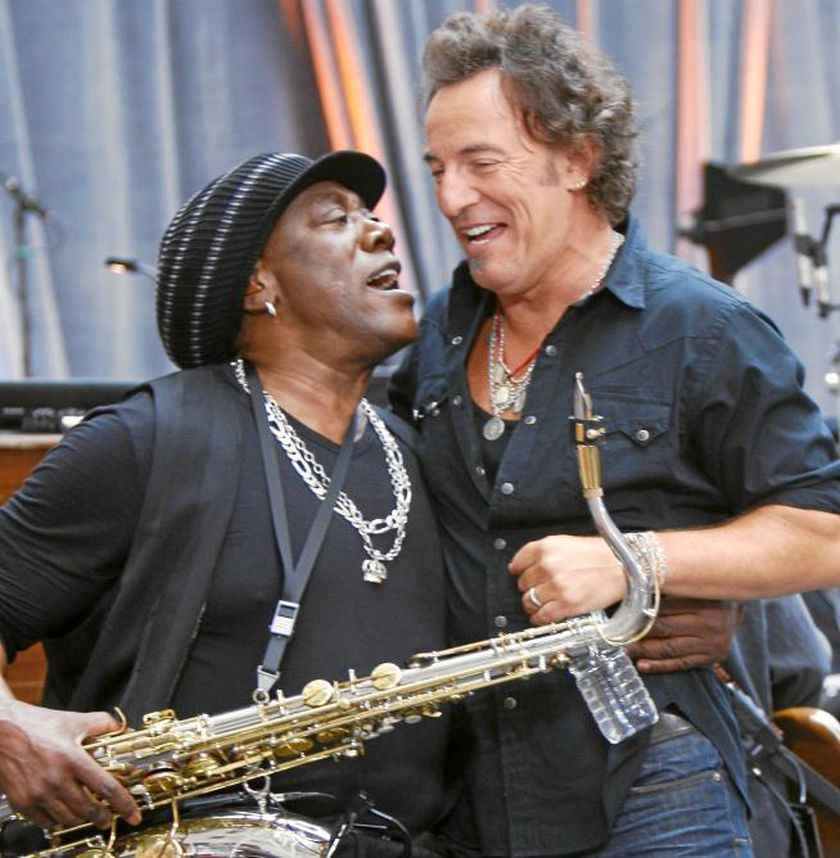 Clemons con Springsteen