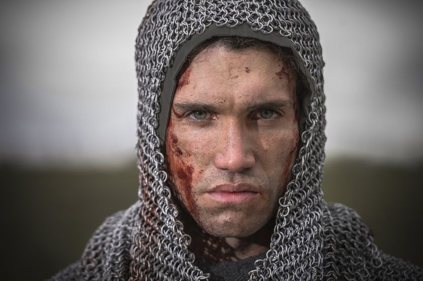 """This image released by Amazon Prime Video shows Jaime Lorente in a scene from """"El Cid.""""  The second season of the series premieres on July 15. (Amazon via AP)"""