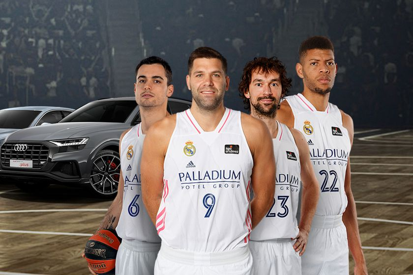 Real Madrid Baloncesto Audi