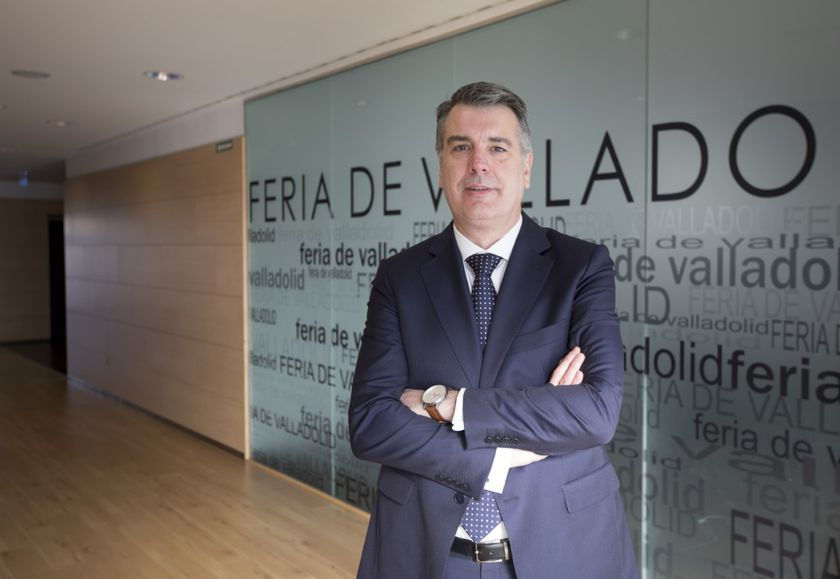 Alberto Alonso, director general de la Feria de Valladolid