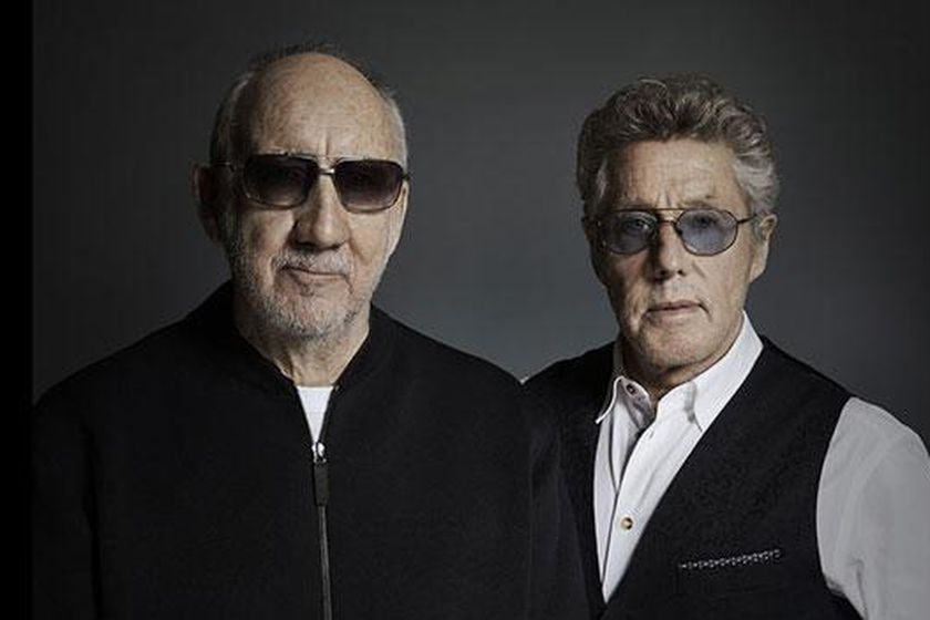 Pete Townshend y Roger Daltrey, de The Who