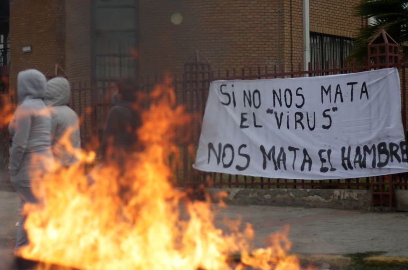 Protest in Chile