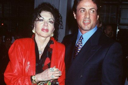 Jackie y Sylvester Stallone