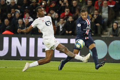 Soccer French League PSG vs Lille