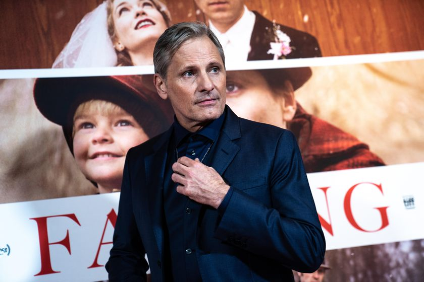 Copenhagen (Denmark), 26/10/2020.- Danish-US actor Viggo Mortensen poses at the premiere of his film 'Falling' in Copenhagen, Denmark, 26 October 2020. The film is Mortensen's debut as director and screenwriter and opens in Danish theaters on 04 November. (Cine, Abierto, Dinamarca, Copenhague) EFE/EPA/Emil Helms DENMARK OUT