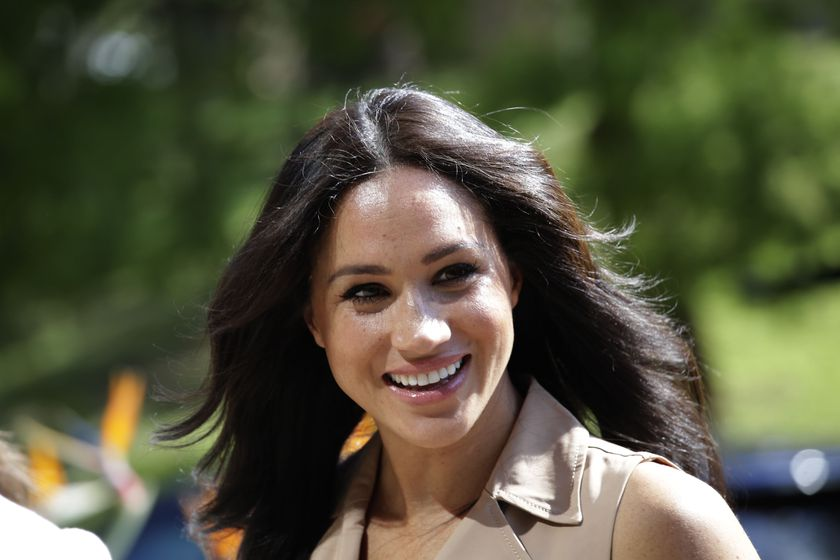 Johannesburg (South Africa), 01/10/2019.- (FILE) - Britain's Meghan, the Duchess of Sussex, smiles during a visit to the University of Johannesburg, in Johannesburg, South Africa, 01 October 2019 (reissued 11 February 2021). The Duchess of Sussex has won her High Court privacy claim against the a British newspaper over the publication of a letter to her father Thomas Markle. (Sudáfrica, Reino Unido, Johannesburgo) EFE/EPA/KIM LUDBROOK *** Local Caption *** 55511305