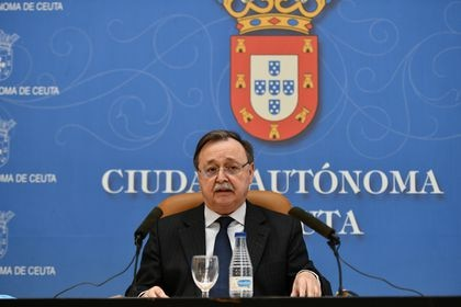 El presidente de Ceuta Juan Vivas. Antonio Sempere / Europa Press 1