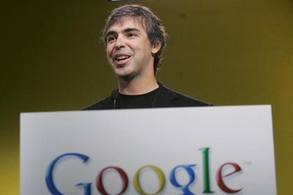 Larry Page, CEO de Google