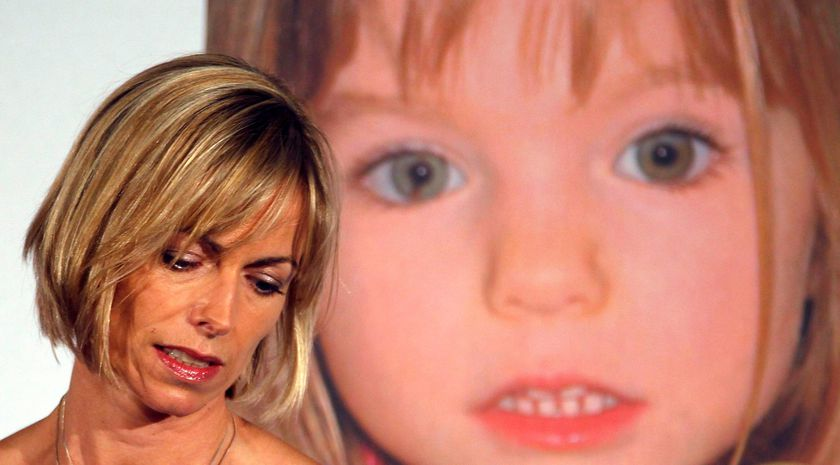 FILE PHOTO: Kate McCann, whose daughter Madeleine went missing during a family holiday to Portugal in 2007, attends a news conference at the launch of her book in London
