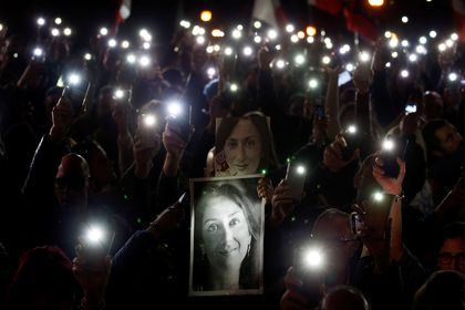 National protest calling on Malta's PM Joseph Muscat to resign immediately and face prosecution, in light of revelations on the assassination of journalist Daphne Caruana Galizia