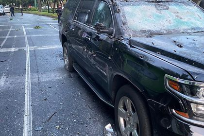 Two escorts die in attack on Mexico City's security chief