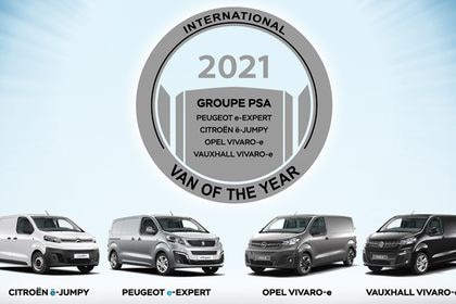 Van Of The Year 2021 para el Grupo PSA.