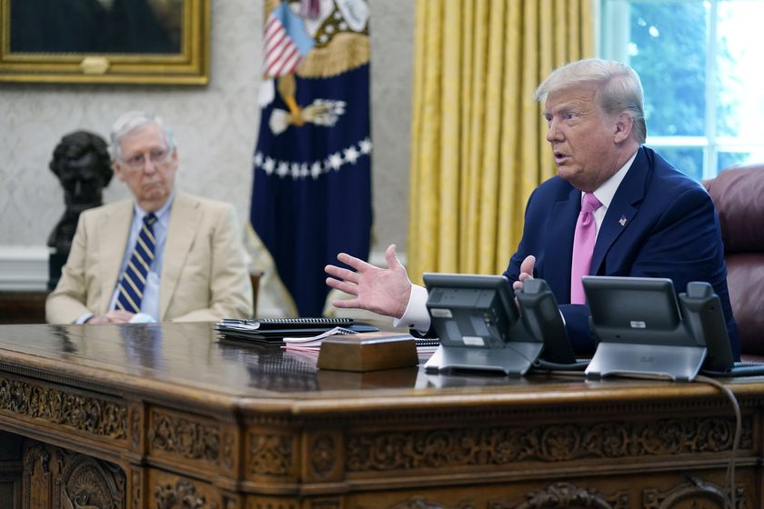Donald Trump, Mitch McConnell, Kevin McCarthy