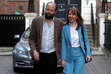 Nick Timothy y Fiona Hill