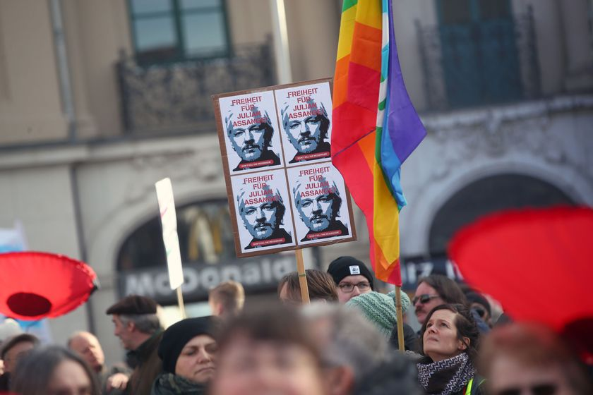 Demonstration against Munich Security Conference